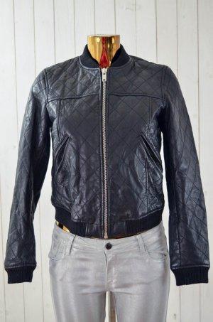 Zara Basic Biker Jacket black