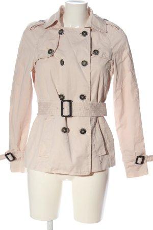 Zara Basic Dufflecoat pink Casual-Look