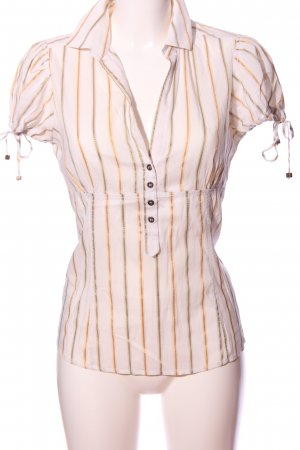 Zara Basic Empire Waist Shirt striped pattern casual look