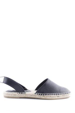 Zara Basic Alpargatas negro look casual