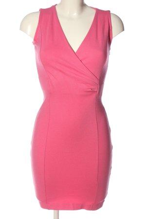 Zara Basic Etuikleid pink Casual-Look