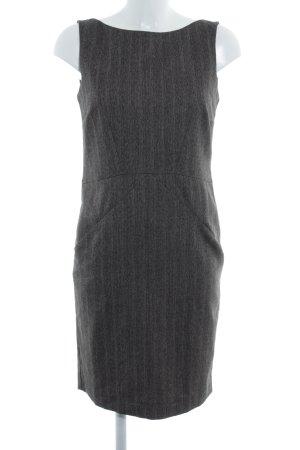 Zara Basic Etuikleid graubraun meliert Business-Look