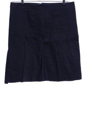 Zara Basic Plaid Skirt blue casual look