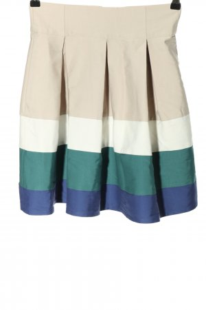 Zara Basic Plaid Skirt striped pattern casual look