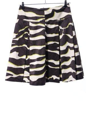 Zara Basic Faltenrock Camouflagemuster Casual-Look