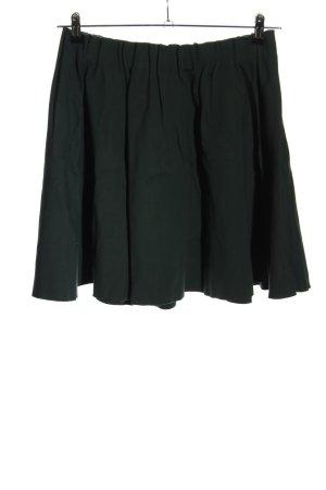 Zara Basic Faltenrock khaki Casual-Look