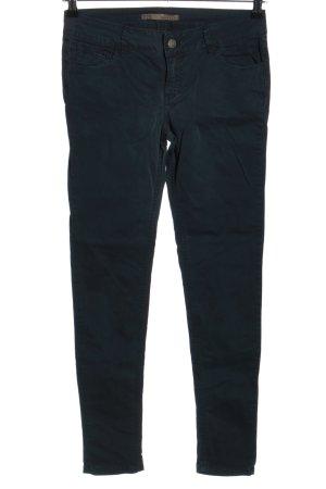Zara Basic Pantalone cinque tasche blu stile casual