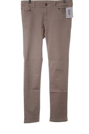 Zara Basic Five-Pocket-Hose altrosa Casual-Look