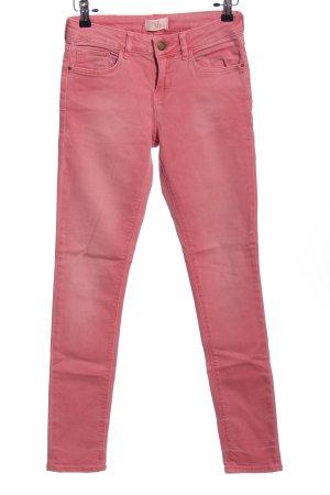Zara Basic Five-Pocket-Hose pink Casual-Look