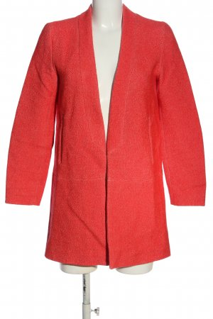 Zara Basic Tailcoat red casual look