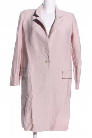 Zara Basic Frock Coat pink business style
