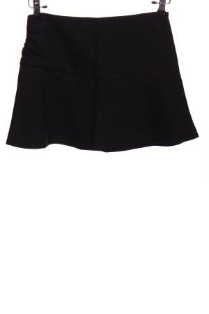 Zara Basic Klokrok zwart casual uitstraling