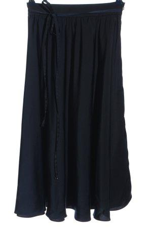 Zara Basic Glockenrock blau Casual-Look