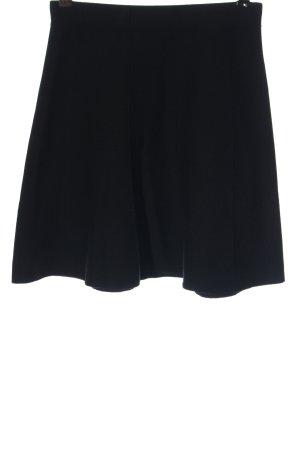 Zara Basic Glockenrock schwarz Elegant
