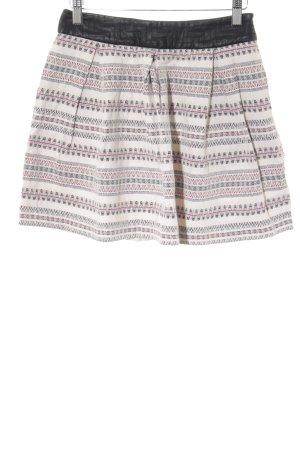 Zara Basic Glockenrock abstraktes Muster Casual-Look