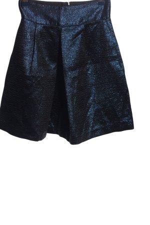 Zara Basic Glockenrock blau Elegant