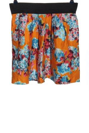 Zara Basic Rozkloszowana spódnica Na całej powierzchni W stylu casual
