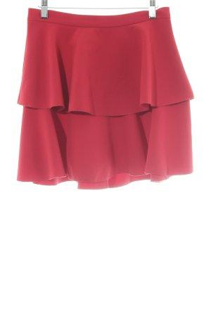 Zara Basic Glockenrock mehrfarbig Casual-Look