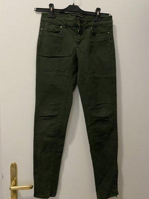 Zara basic grüne Jeans