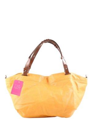 Zara Basic Handtasche hellorange Casual-Look