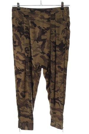 Zara Basic Haremshose Camouflagemuster Casual-Look