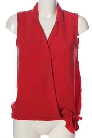 Zara Basic Hemd-Bluse rot Casual-Look