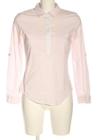 Zara Basic Hemd-Bluse Allover-Druck Business-Look