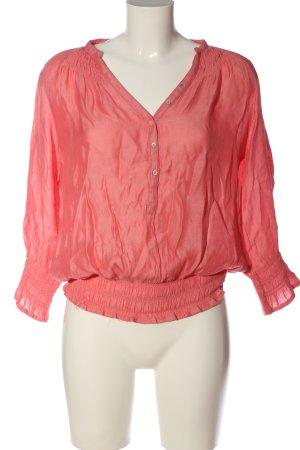 Zara Basic Hemd-Bluse pink Casual-Look