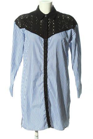 Zara Basic Robe chemise motif rayé style décontracté