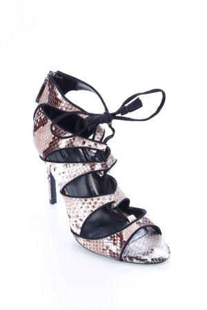Zara Basic High Heel Sandaletten mehrfarbig Party-Look