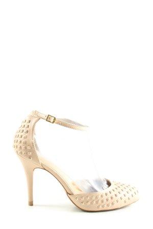 Zara Basic High Heels wollweiß Elegant