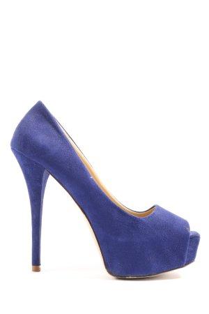 Zara Basic High Heels blau Elegant
