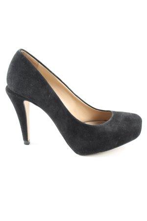 Zara Basic High Heels schwarz Business-Look