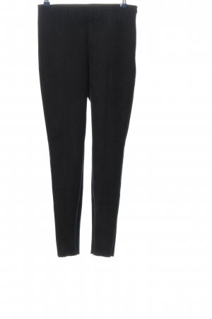 Zara Basic High-Waist Hose schwarz Casual-Look