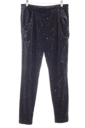 Zara Basic High-Waist Hose schwarz extravaganter Stil