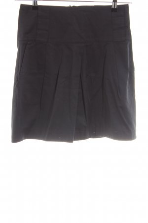 Zara Basic High Waist Rock schwarz Casual-Look