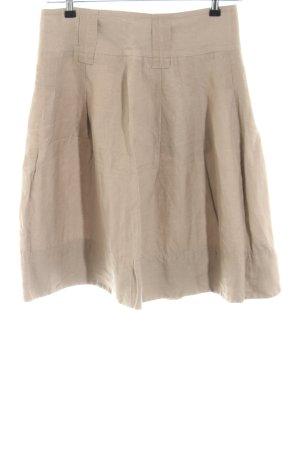 Zara Basic Jupe taille haute blanc cassé style décontracté