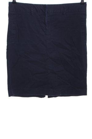 Zara Basic High Waist Skirt blue casual look