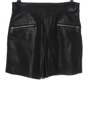 Zara Basic High waist short zwart casual uitstraling