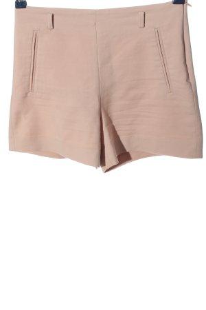 Zara Basic High-Waist-Shorts pink Casual-Look