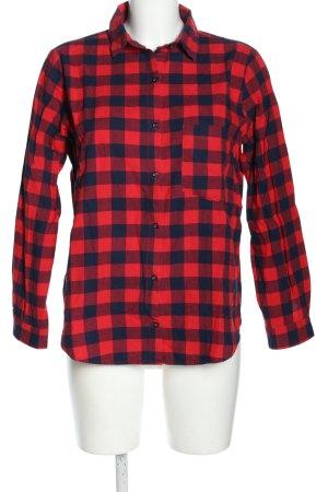Zara Basic Houthakkershemd rood-blauw geruite print casual uitstraling