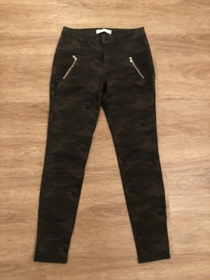 Zara Basic Cargo Pants khaki