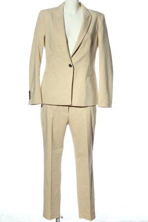 Zara Basic Tailleur-pantalon crème style d'affaires