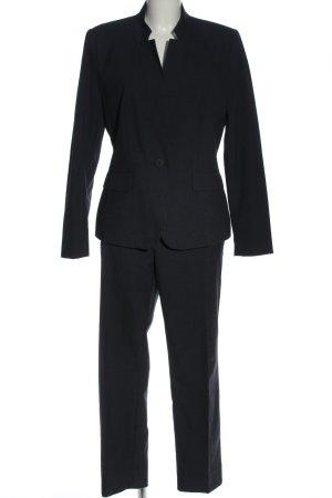 Zara Basic Hosenanzug blau Business-Look