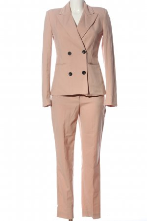 Zara Basic Trouser Suit nude business style
