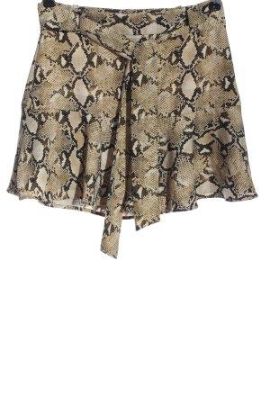 Zara Basic Falda pantalón estampado de animales look casual