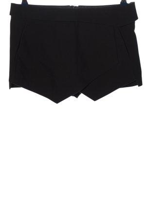 Zara Basic Falda pantalón negro look casual
