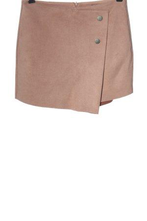 Zara Basic Gonna culotte color carne stile casual