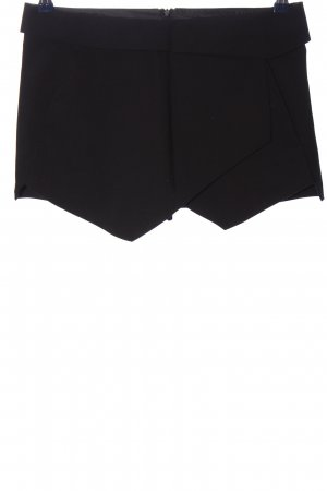 Zara Basic Culotte Skirt black casual look