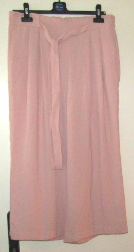 Zara Gonna culotte rosa pallido Poliestere